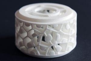 Dopełnienie - dyplom magisterski, ażurowa struktura 3D