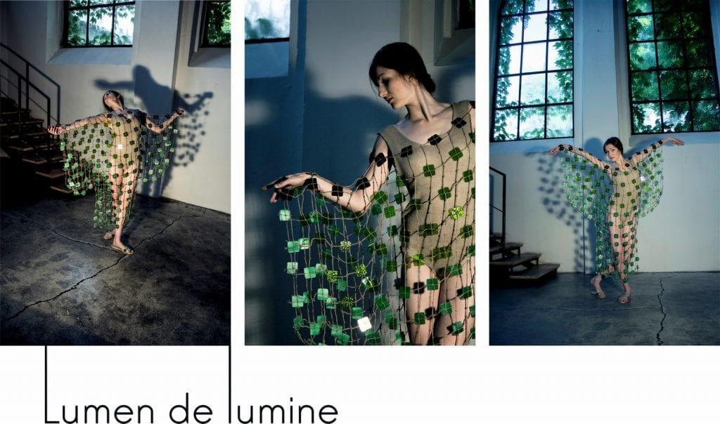 Lumen de lumine - sylwetki z kolekcji dyplomowej