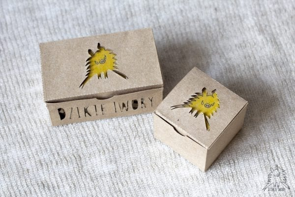 W takie pudełeczka pakujemy nasze produkty.