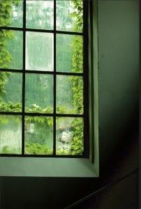 Okno w restauracji Impresja w Zabrzu