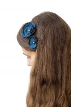Dzikie Twory - opaska na włosy - z kwiatkiem35